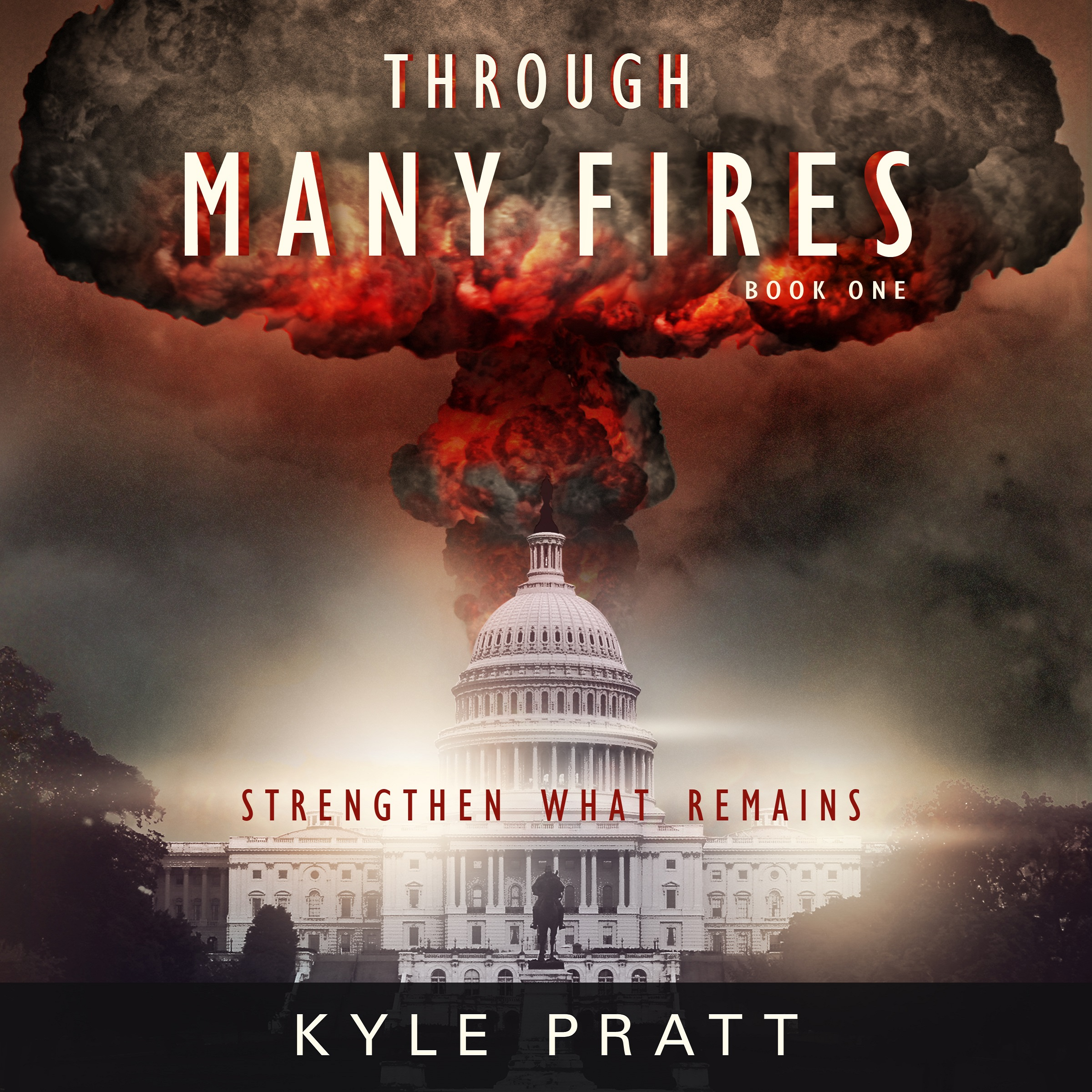 The audiobook cover of Through Many Fires