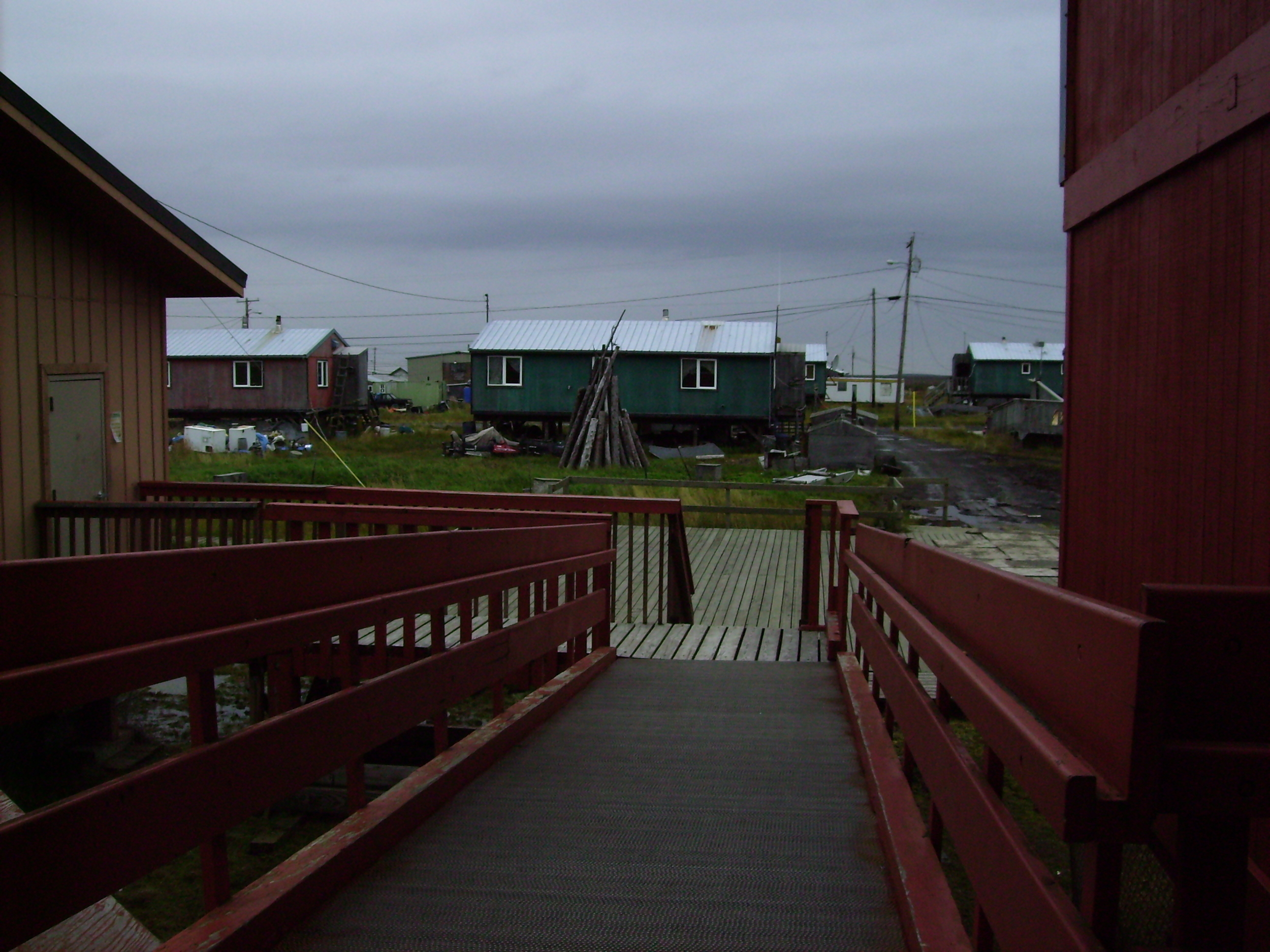 A view of Eek, Alaska