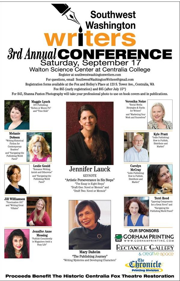 2016 Southwest Washington Writers Conference