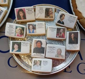 This is our cookies. Cookies featuring the staff of the 2016 Southwest Washington Writers conference