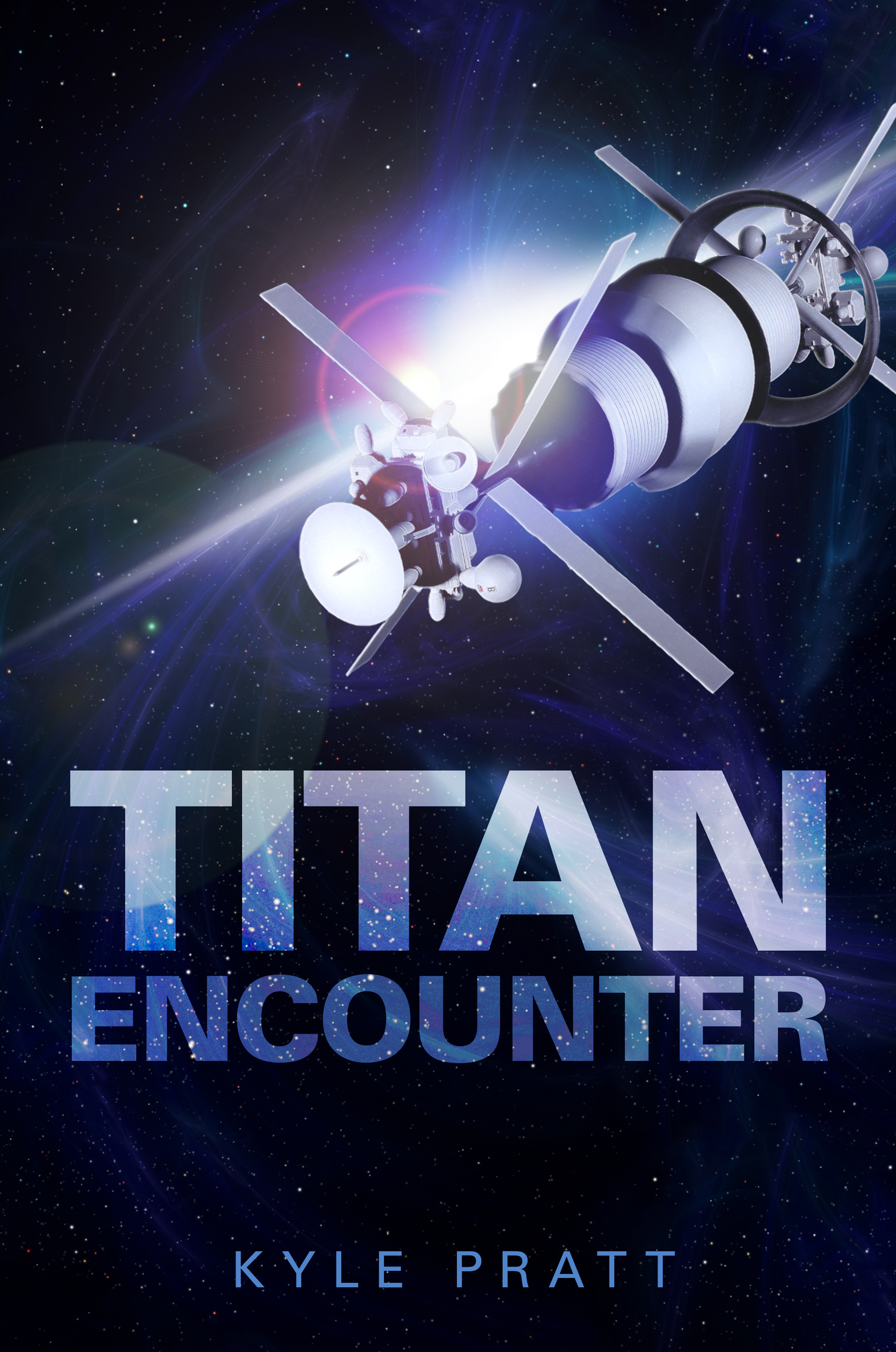 Titan Encounter   Justin starts one morning as a respected businessman and ends the day a fugitive wanted by every power in the known universe. Fleeing with his 'sister' Mara and Naomi, a mysterious woman from Earth Empire, their only hope of refuge is with the Titans, genetically enhanced soldiers who rebelled, and murdered millions in the Titanomachy War. Hunted, even as they hunt for the Titans, the three companions slowly uncover the truth that will change the future and rewrite history.