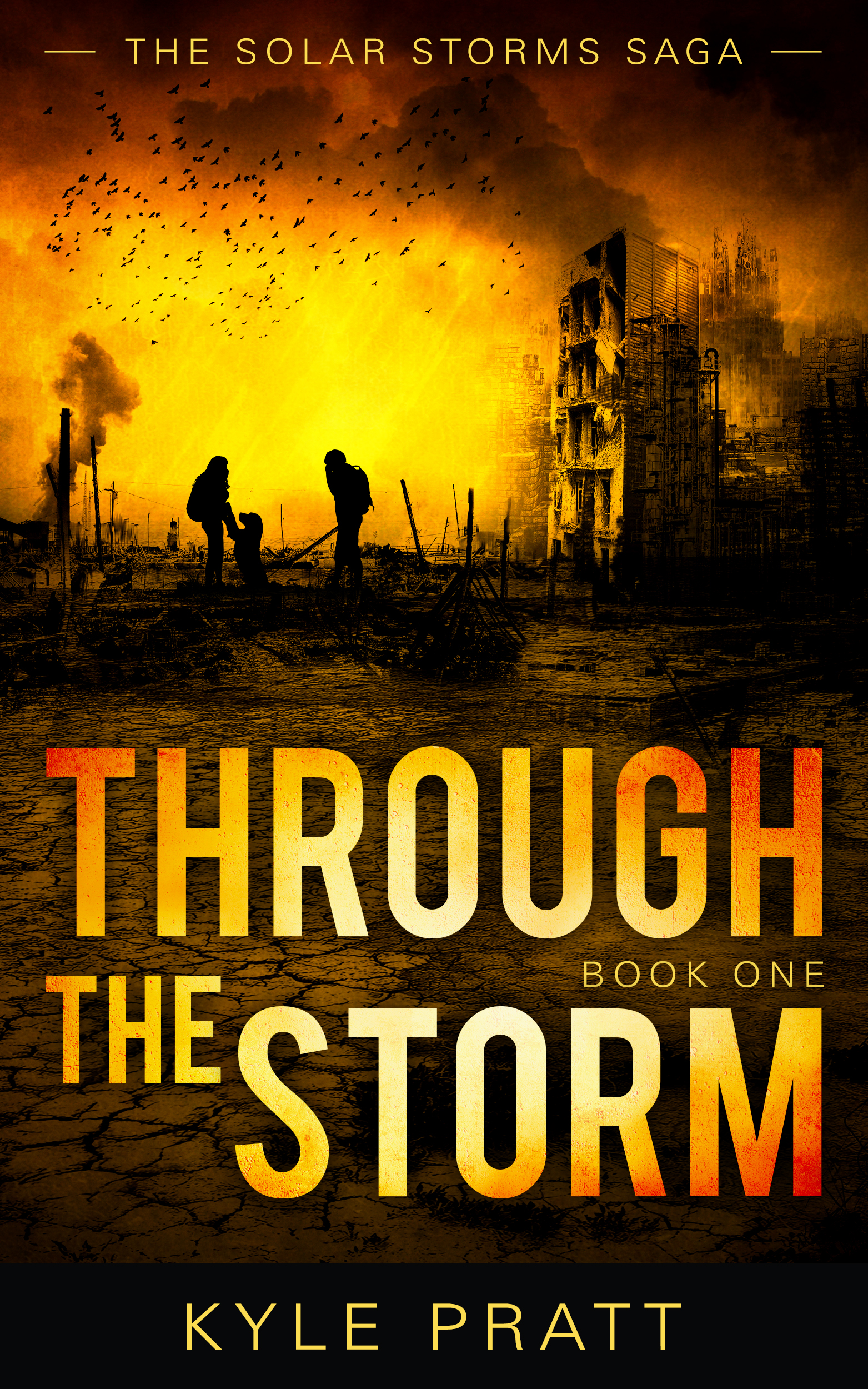 The new book is a sidequel to  Through the Storm