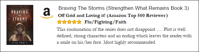 Braving the Storms Amazon Review 2 Off Grid.png