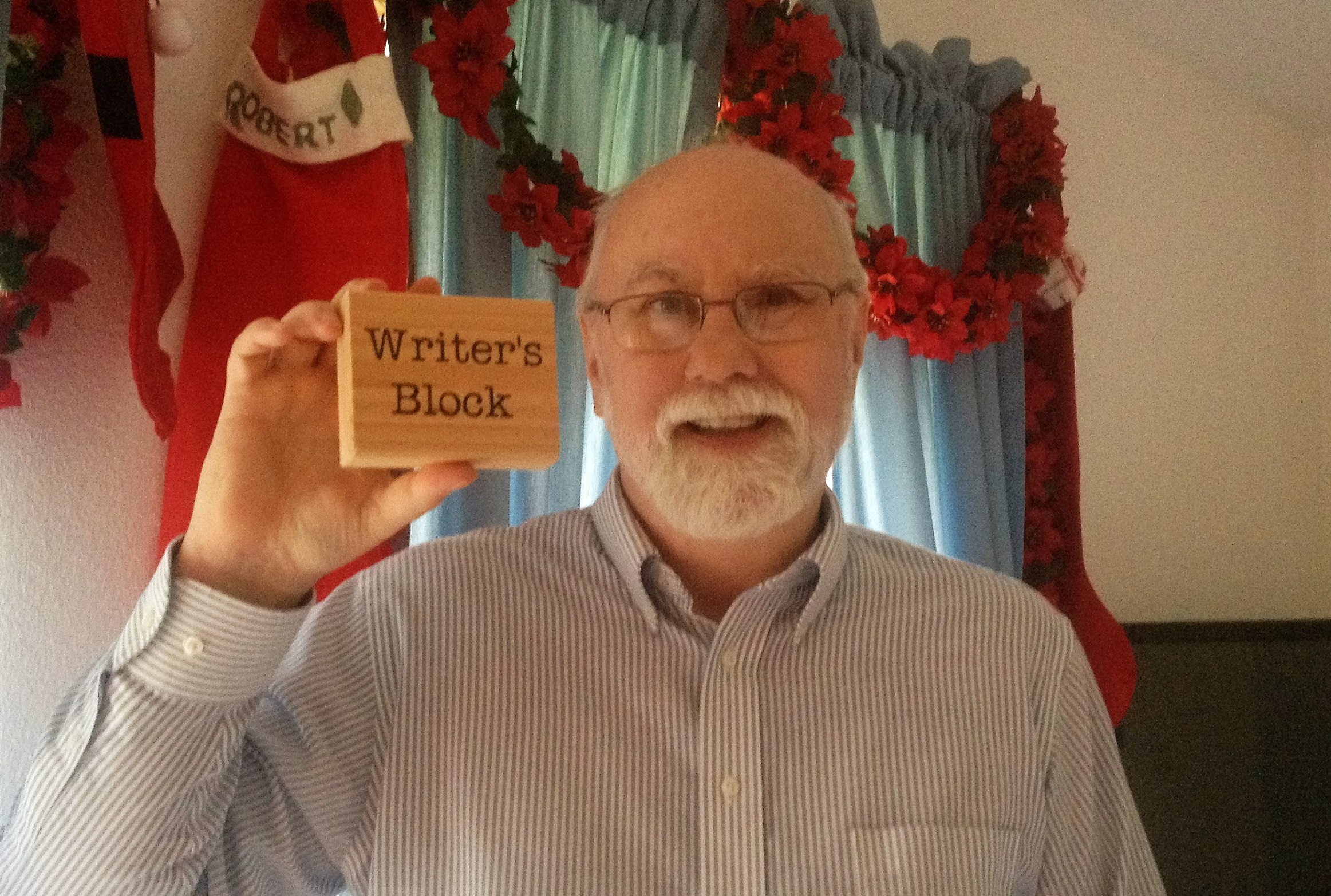 Kyle gets Writers Block as a Christmas present from his family