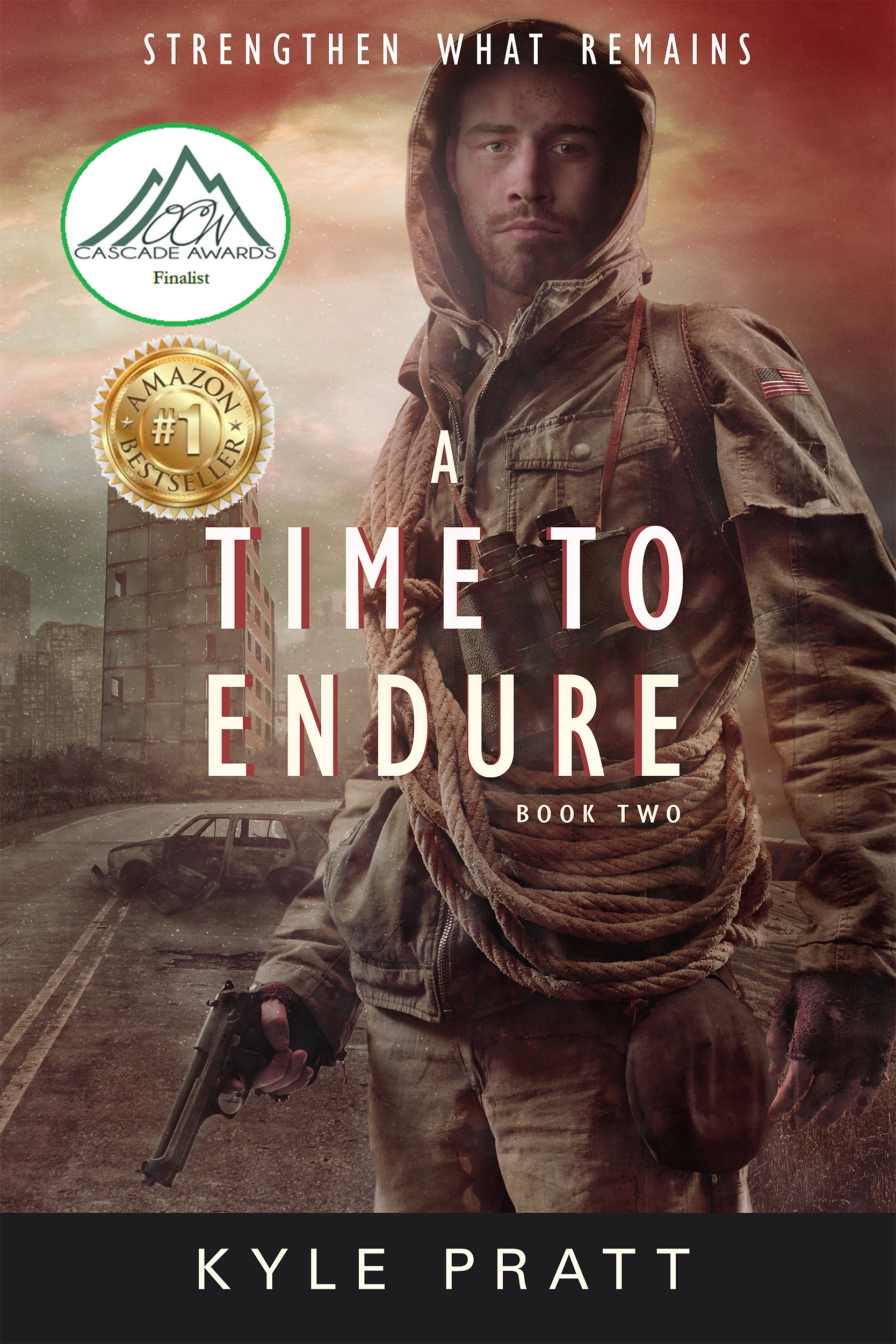 A Time to Endure    The second novel in the Strengthen What Remains series.    Cascade Award finalist    Amazon number one bestseller   The nation's economy teeters on the verge of collapse. The dollar plunges, inflation runs rampant, and the next civil war threatens to decimate the wounded country. In the face of tyranny, panic, and growing hunger, Caden struggles to keep his family and town together. But how can he save his community when the nation is collapsing around it?