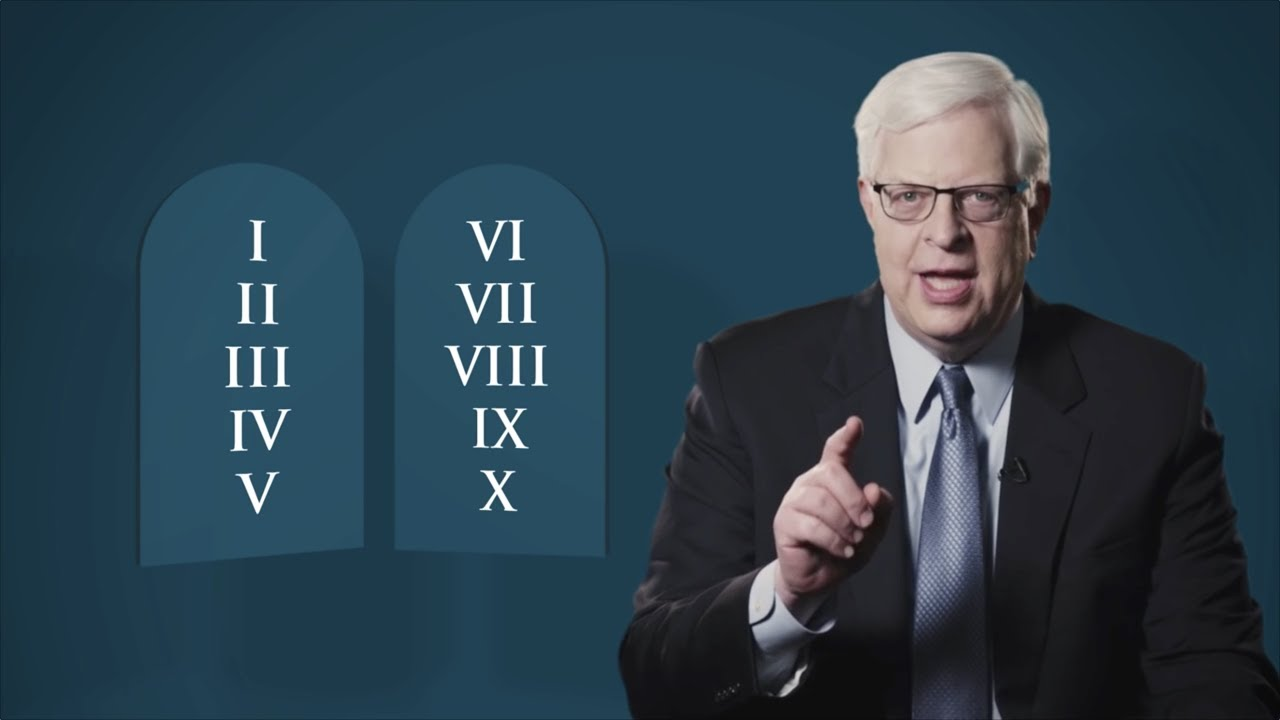 Dennis Prager and The Ten Commandments: What You Should Know