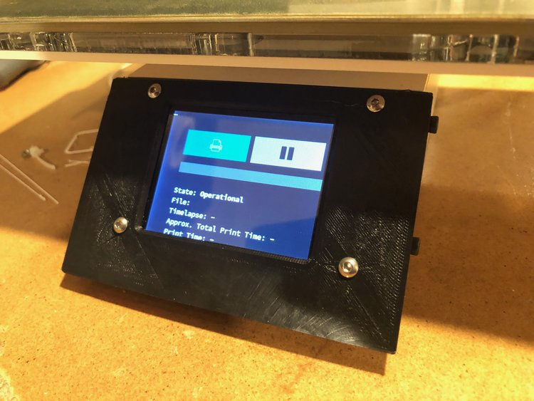 Setting up Raspberry Pi with OctoPrint and PiTFT — sodesne