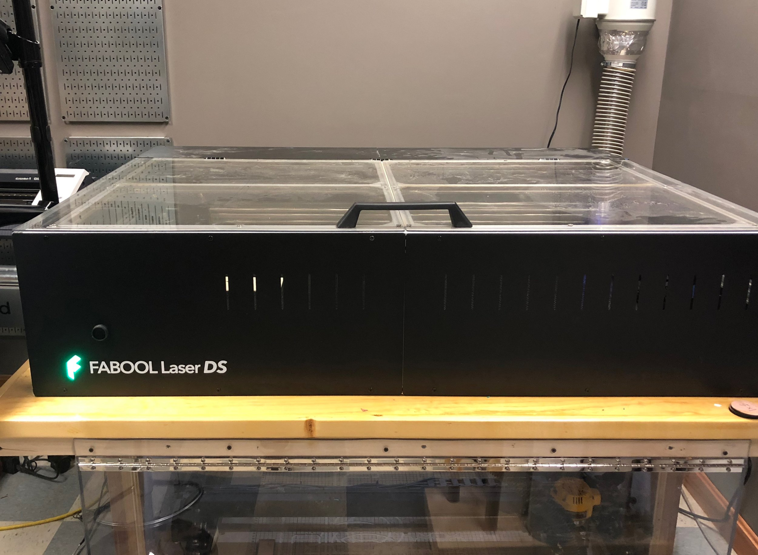 Completed Laser Cutter.