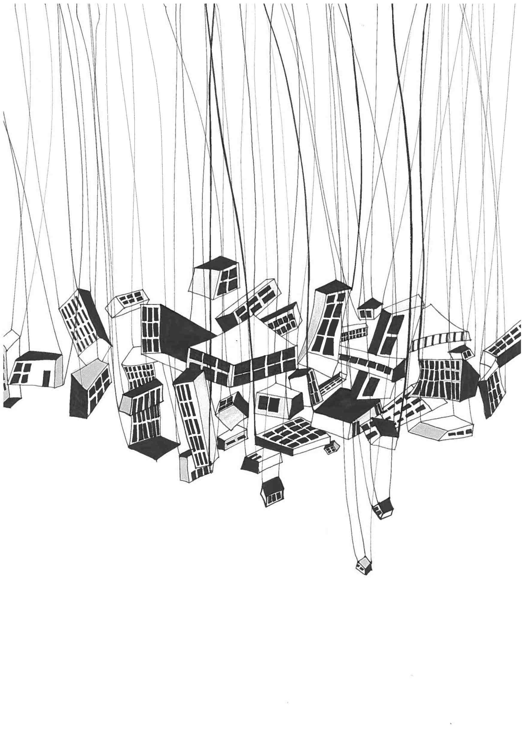 Tegning med pen / Fortolkning af Calvinos invisible cities