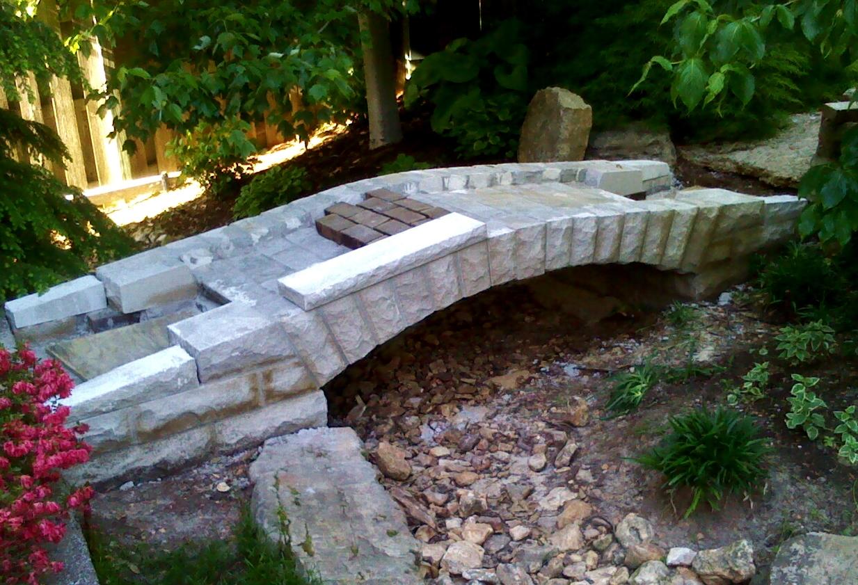 Brick Path Started