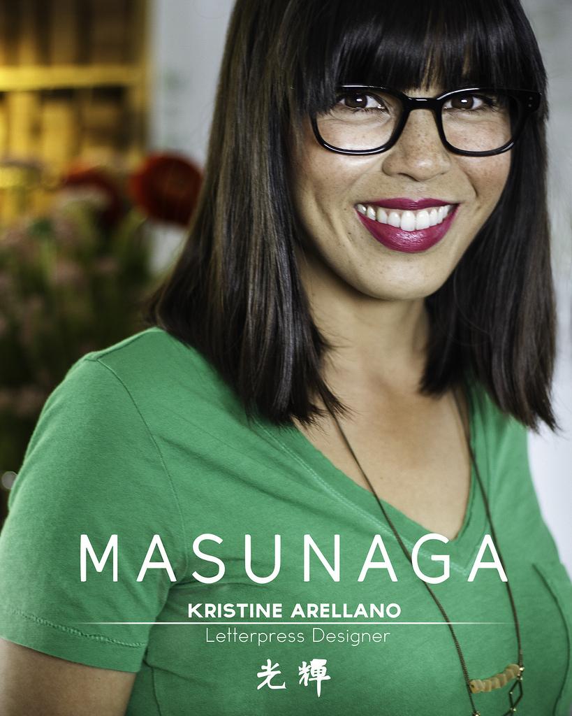 Kristine Arellano + Masunaga