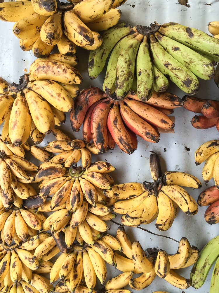 Local bananas