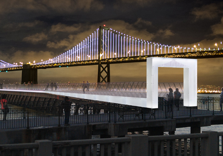 Pier 14 - Illuminate the Arts/The Bay Lights Project