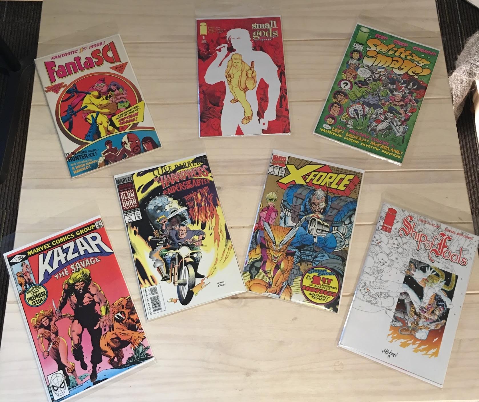 Keith's Comics