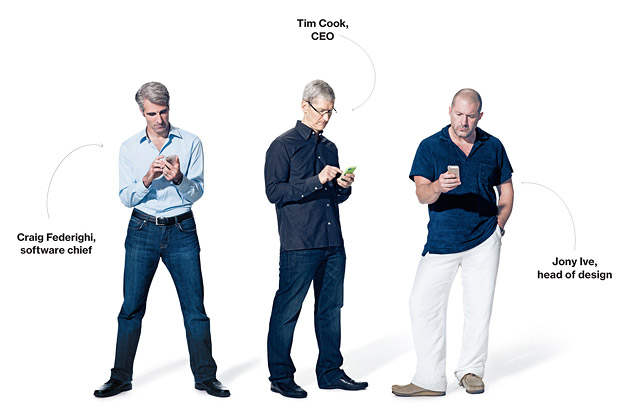 Source:http://www.businessweek.com/articles/2013-09-19/cook-ive-and-federighi-on-the-new-iphone-and-apples-once-and-future-strategy