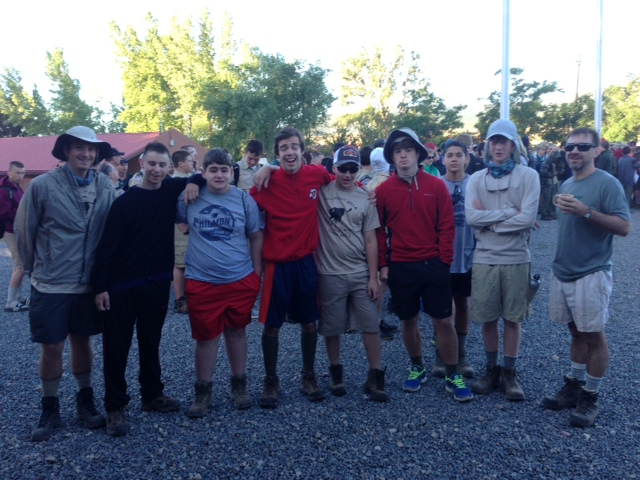 Philmont Crew Ready to Hit the Trail