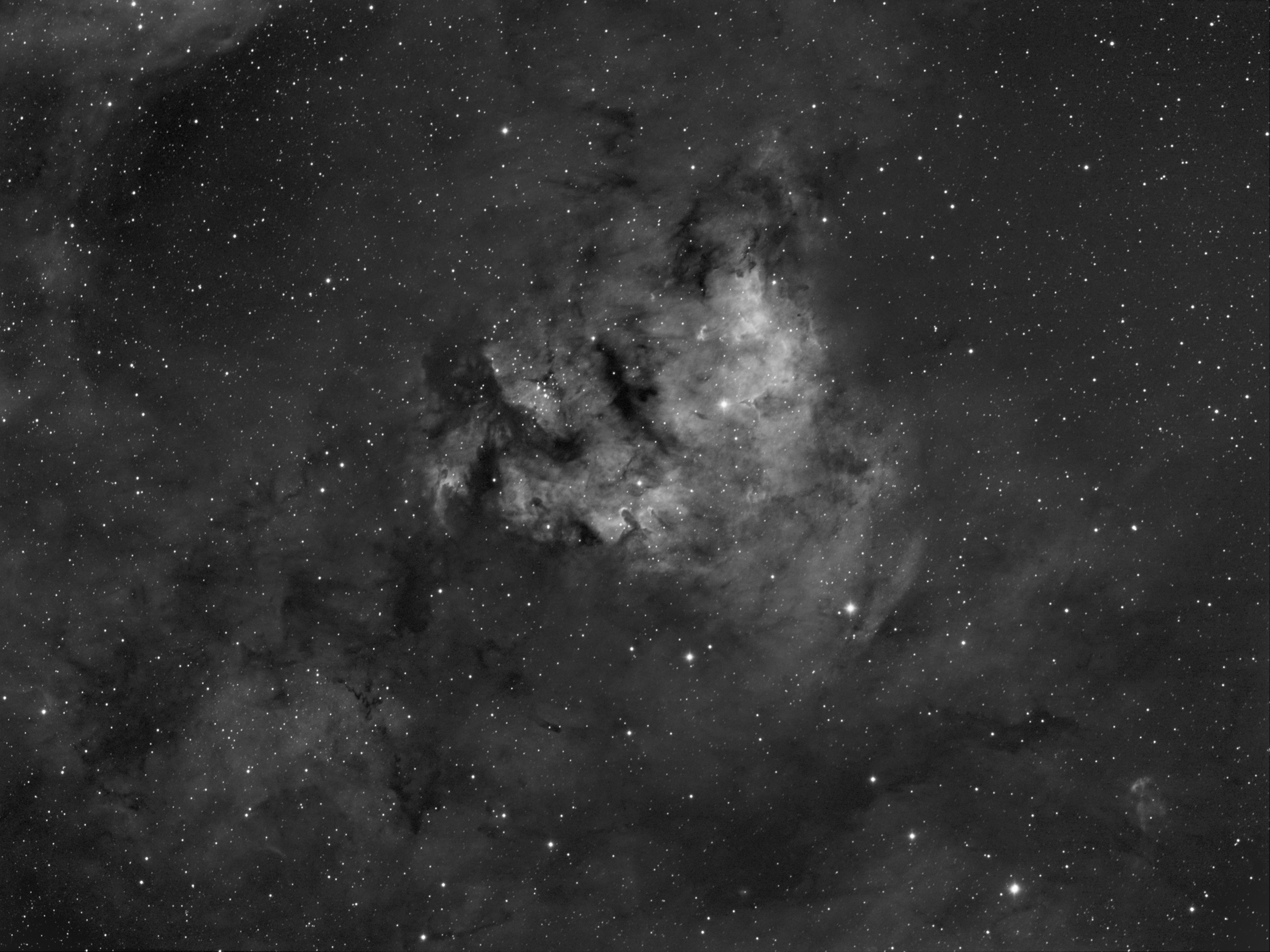 NGC 7822 Ha 5hrs, click to enlarge