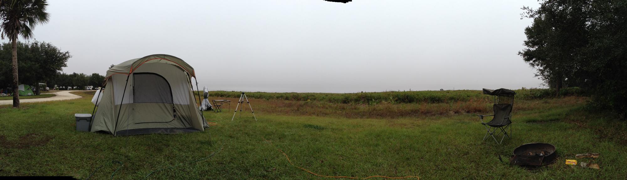 Camp site #20   Kissimmee Prairie