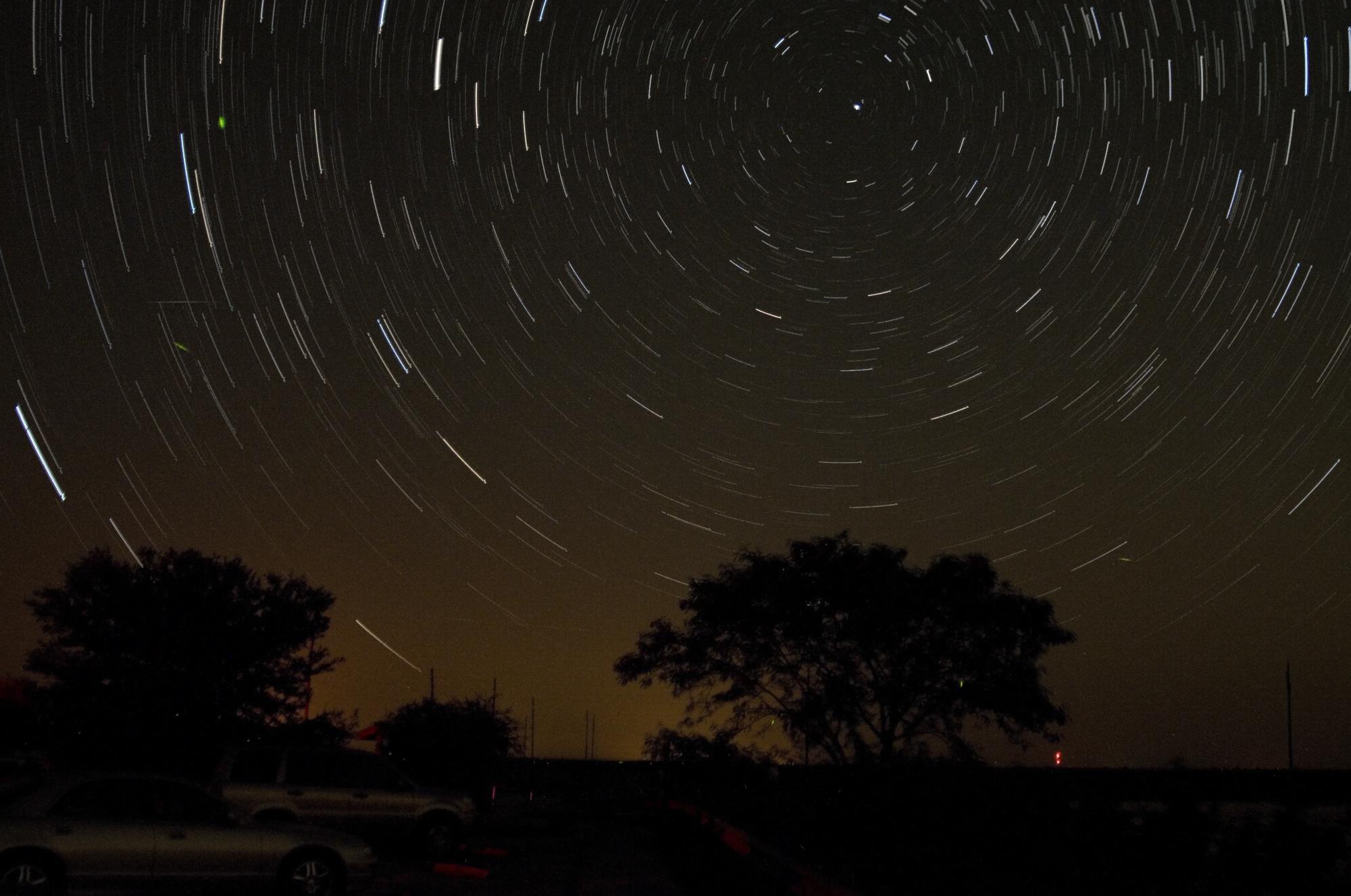 Peseids Star Trails