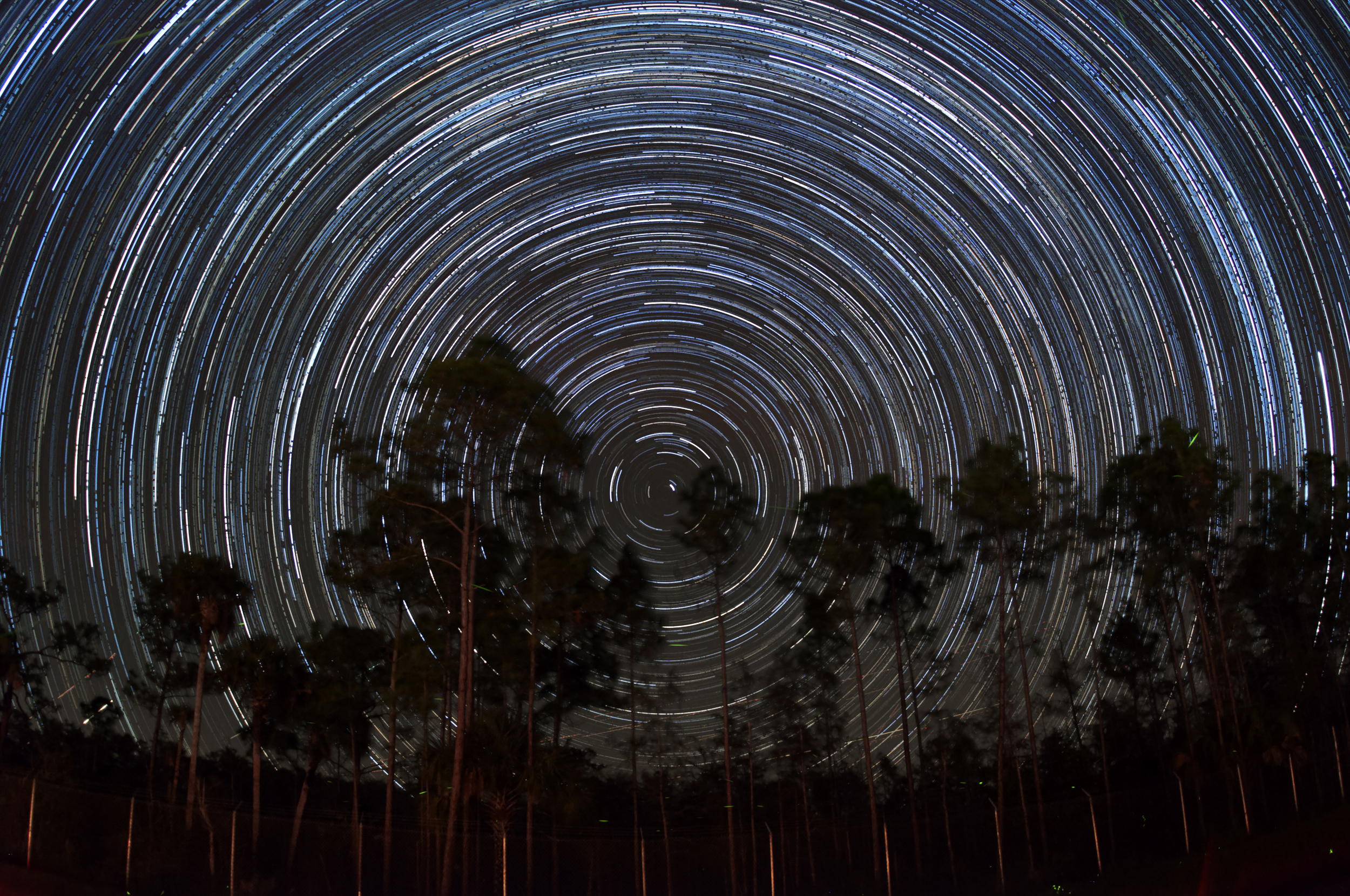 20 second exposures, iso 1250 at f/2.5, sigma 15mm 180 fish-eye lens.
