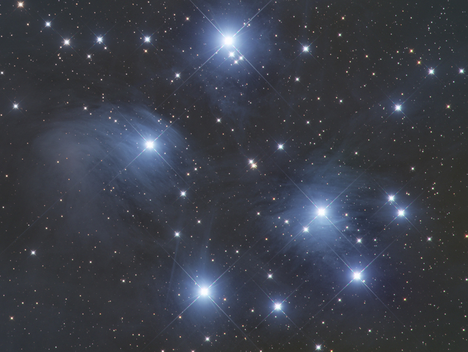 #4 The Pleiades or The Seven Sisters - aka M45