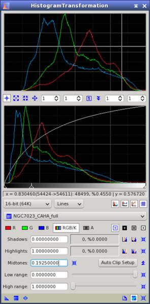 HistogramTransformation Tool