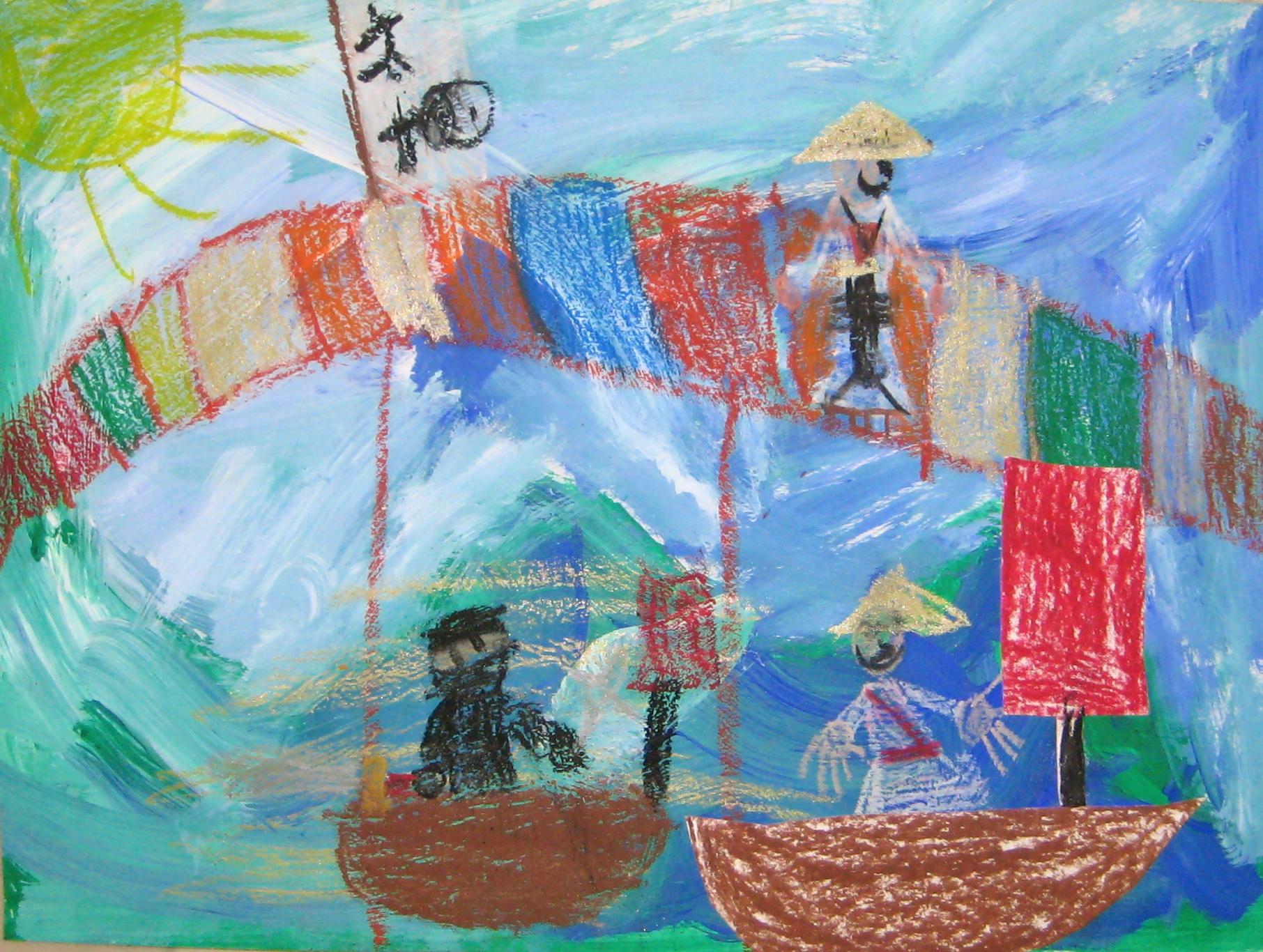 Grade 2 Ocean Mixed Media