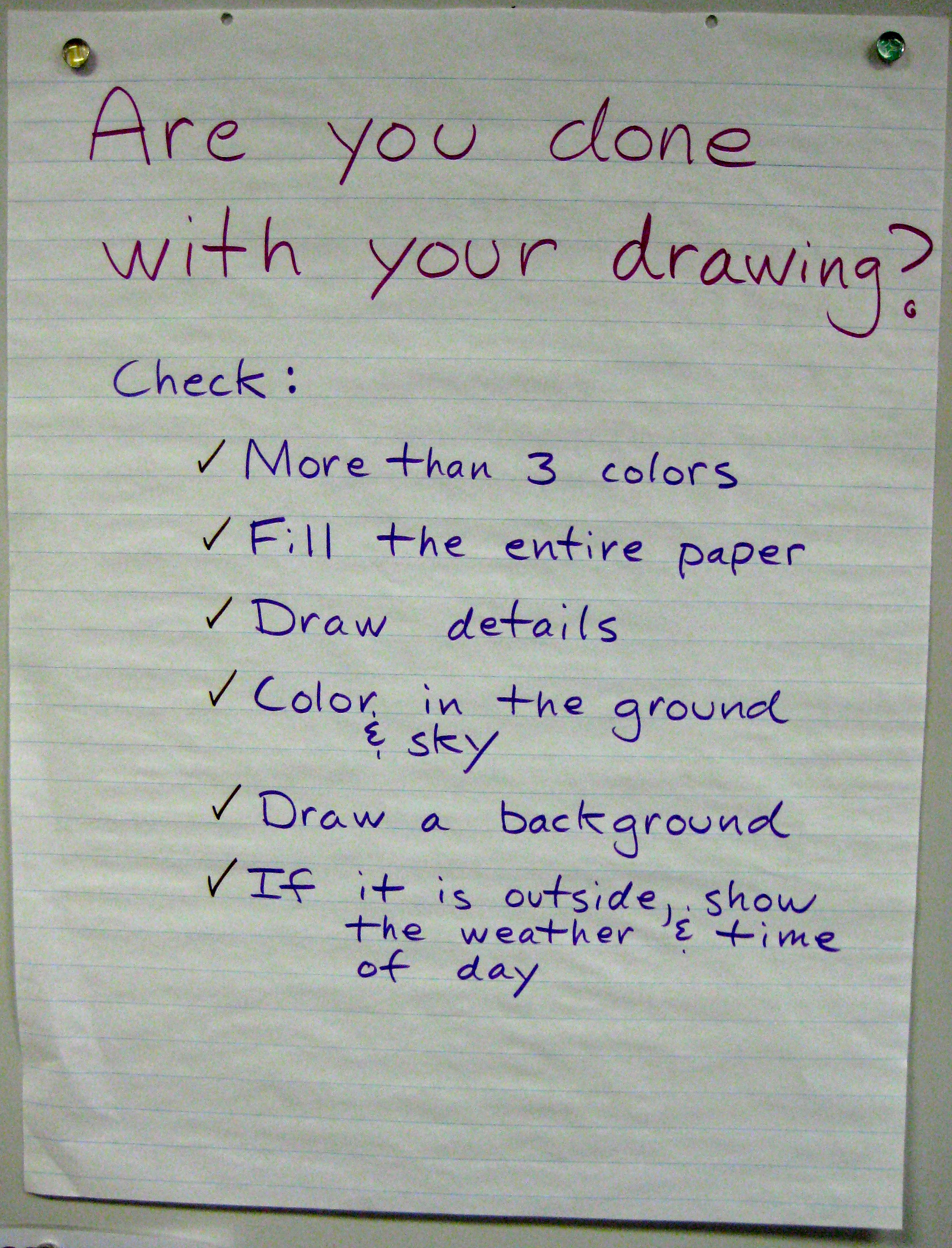 Image # 2    :  Drawing Expectations