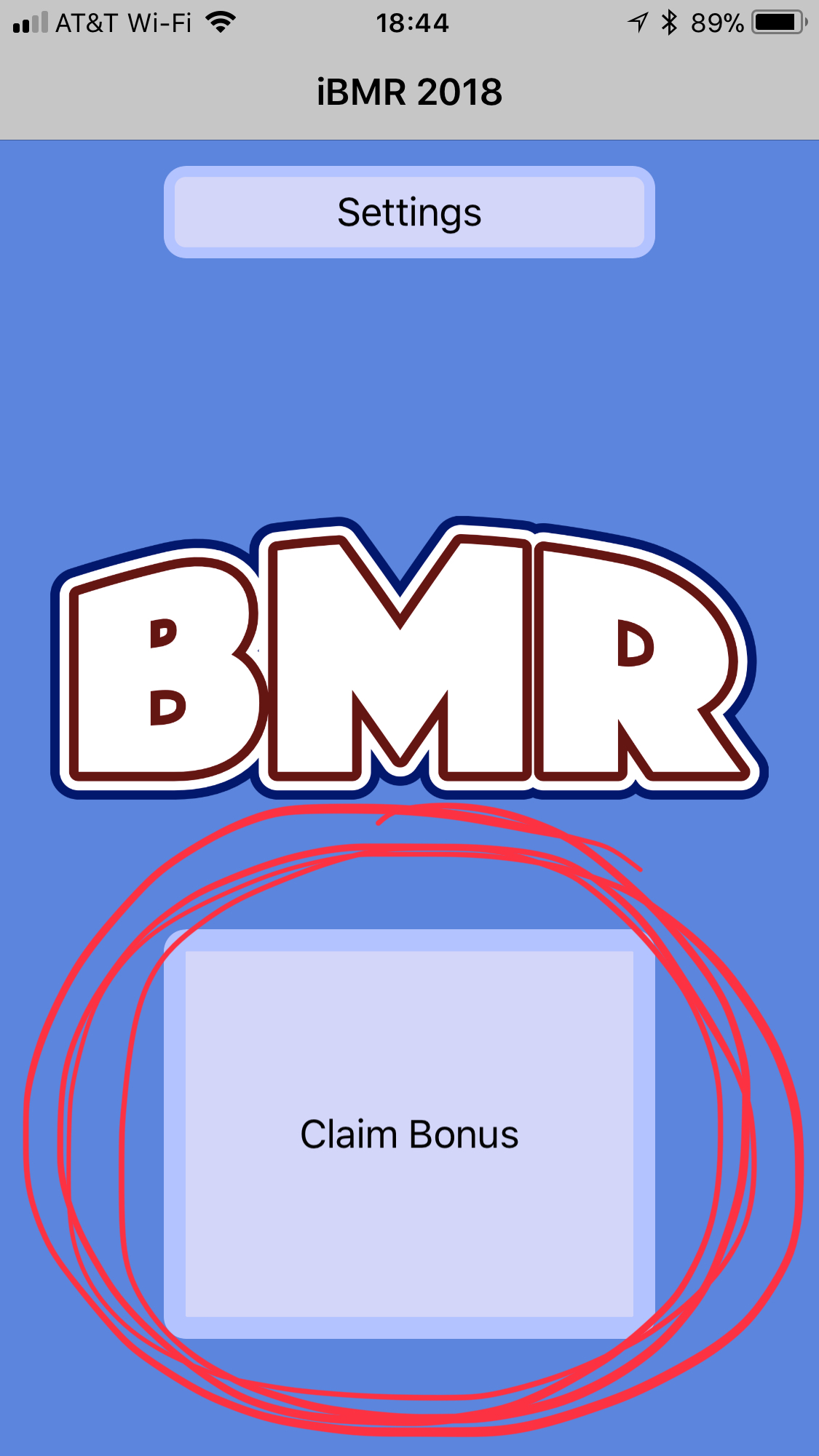 """If you are NOT using """"Justin's Awesome Bonus Selector,""""the DIC/HIC/MIC is locked in when you use tap the """"Claim Bonus"""" button."""