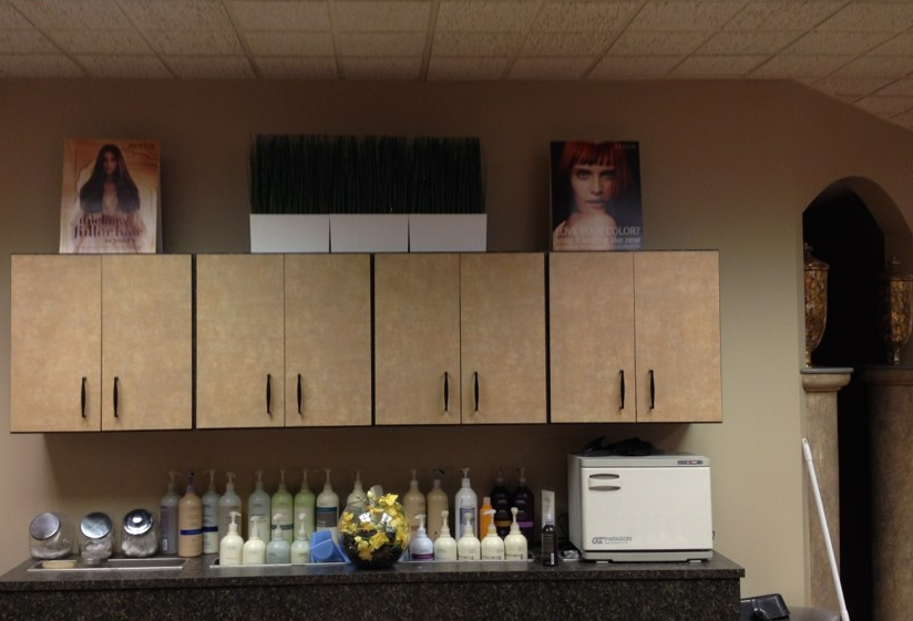 Commercial remodel, Aveda Salon & Spa