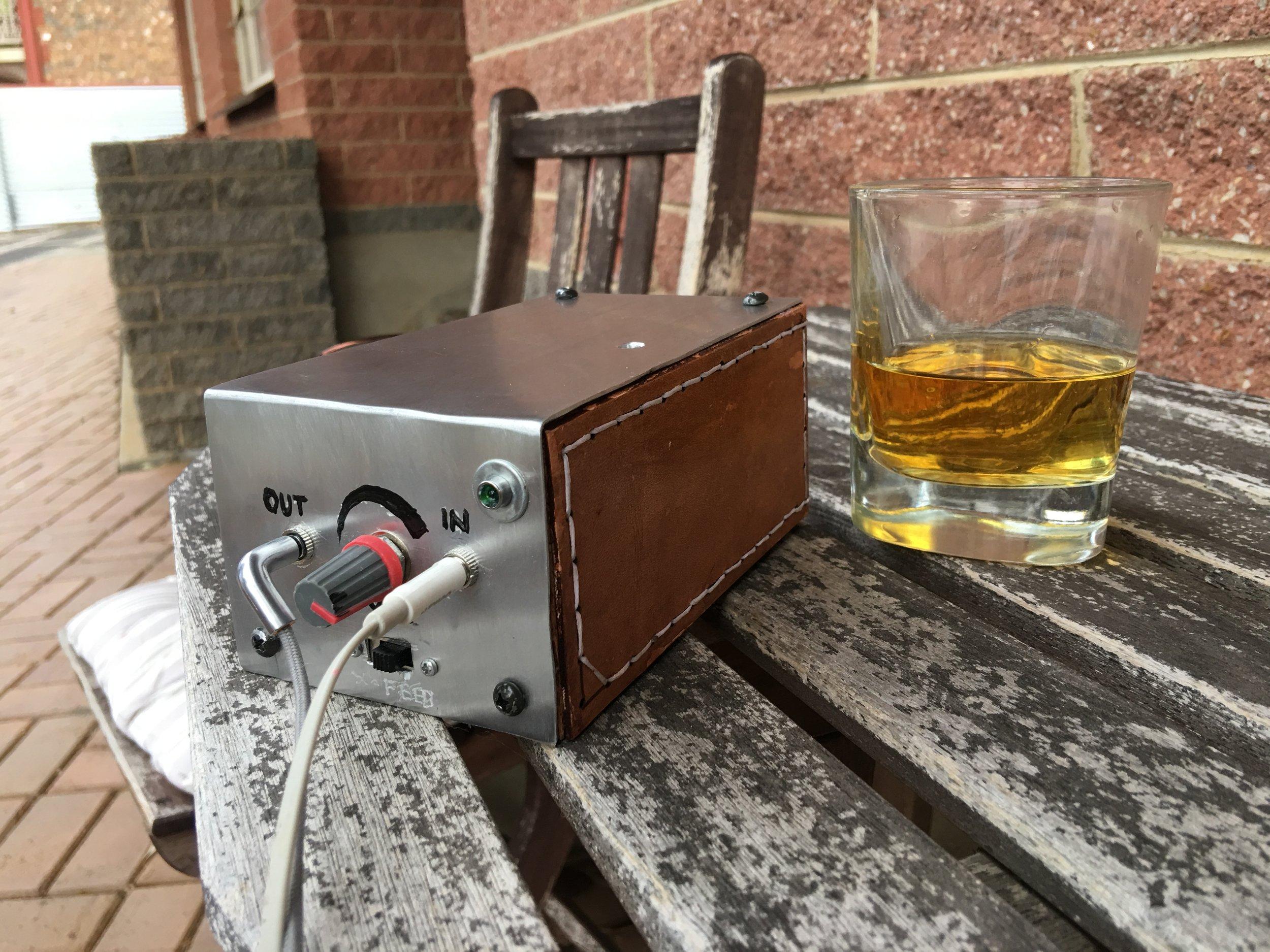 my headphone amplifier build project