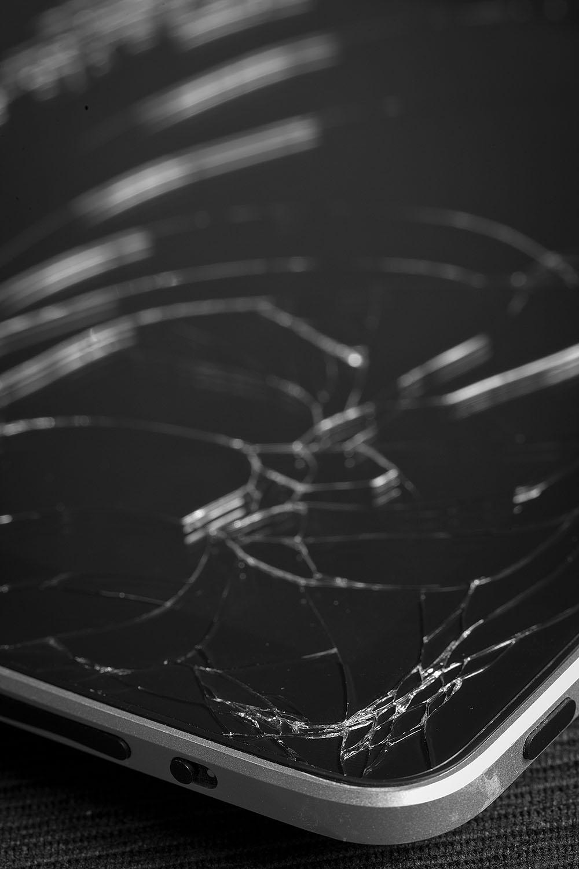 Smashed iPad Screen