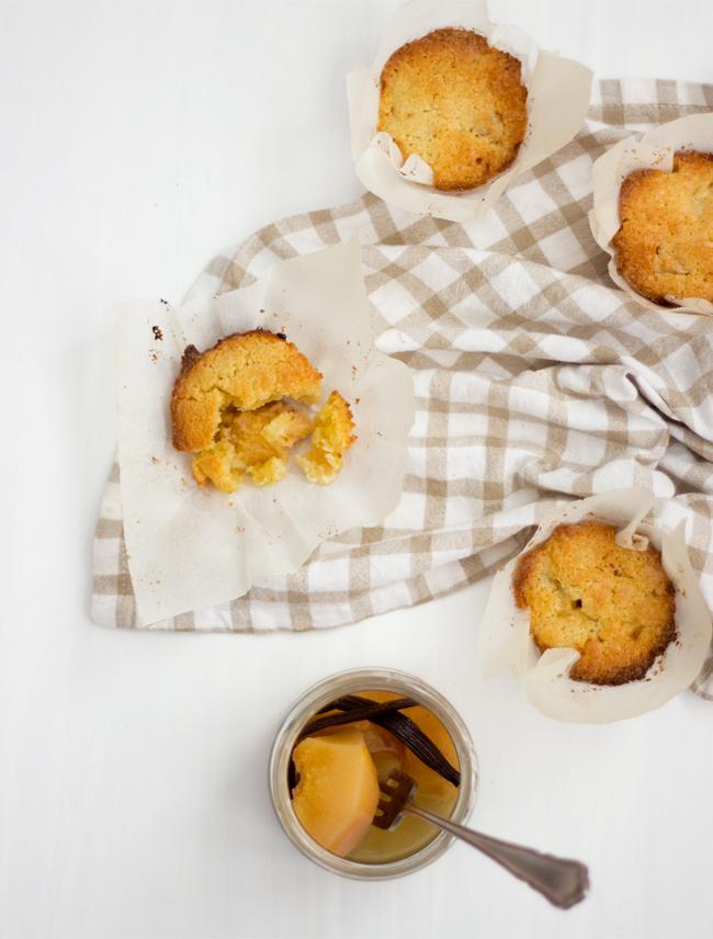 Erika Rax - Quince Frangipane Muffins