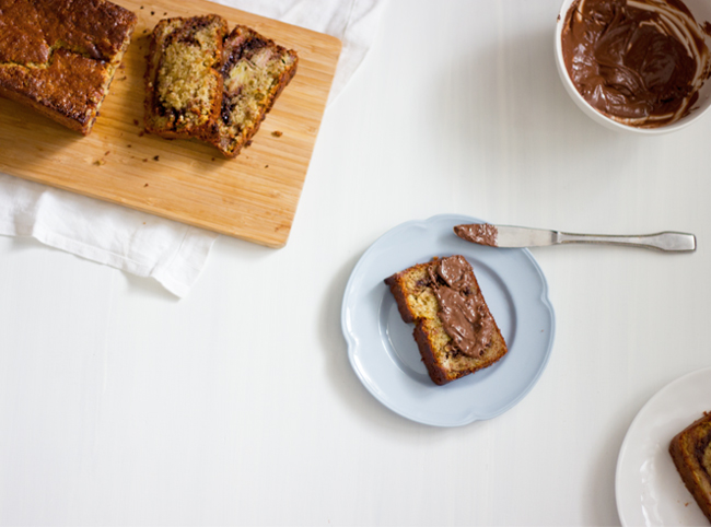 Erika Rax - Nutella Banana Bread