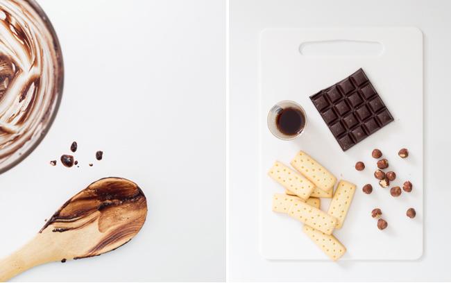 Erika Rax - No-Bake Dark Chocolate Shortbread Loaves