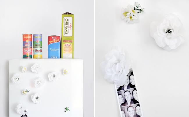 Erika Rax - Floral Fridge Magnets