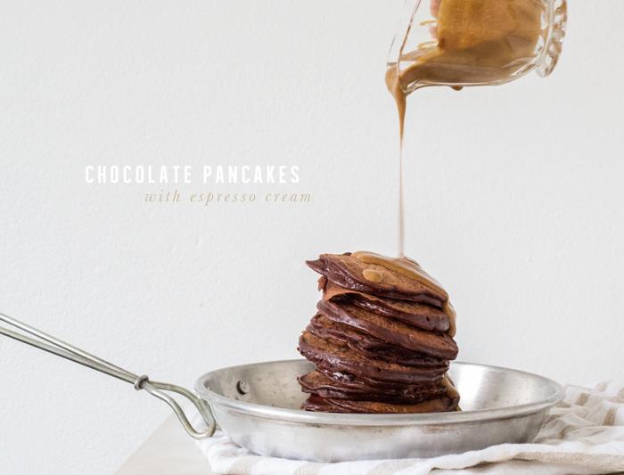 Erika Rax - Chocolate Pancakes with Espresso Cream