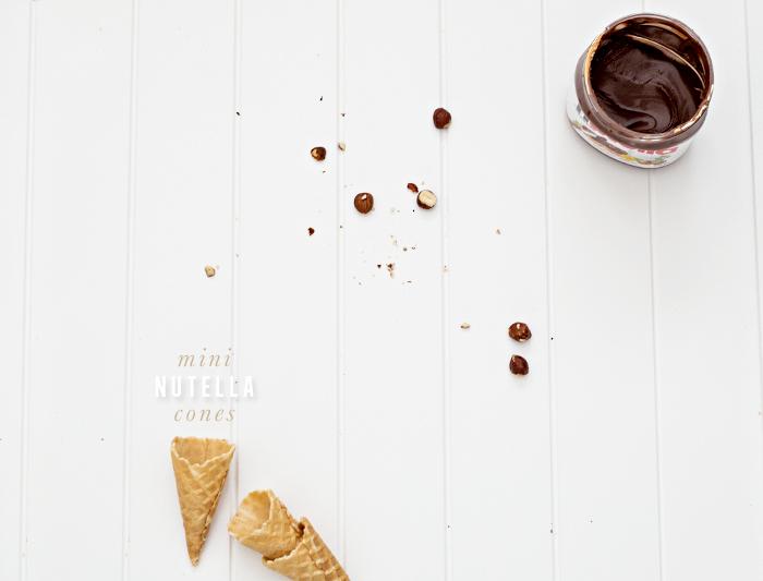 Erika Rax - Mini Nutella Cones