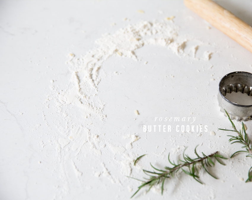 Rosemary Butter Cookies   Erika Rax