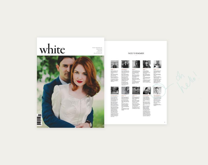 White Magazine   Erika Rax