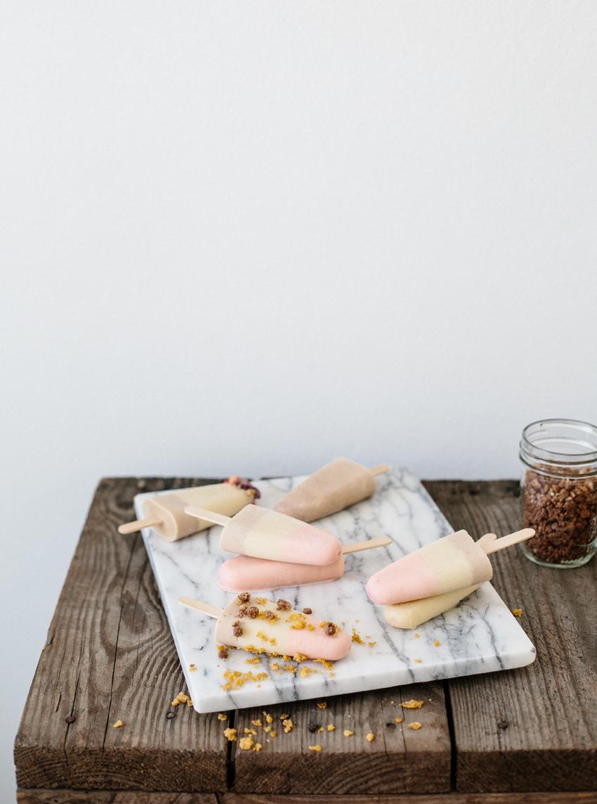 Erika Rax | Cereal Milk Neopolitan Popsicles for #popsicleweek