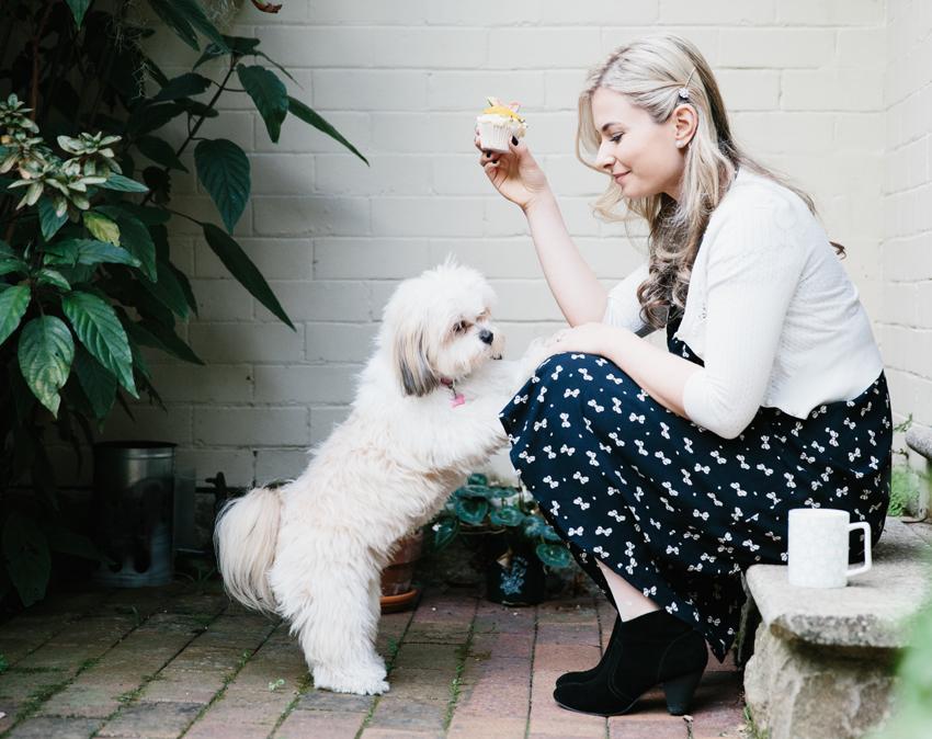 Meet Celeste Hulme / Persian Orange Cupcakes   Erika Rax