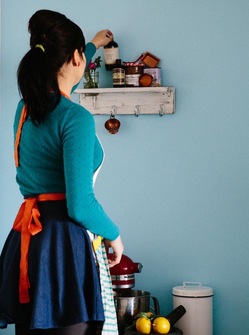 Meet Chantal Brady / Orange Blossom-Lillet Madeleines   Erika Rax
