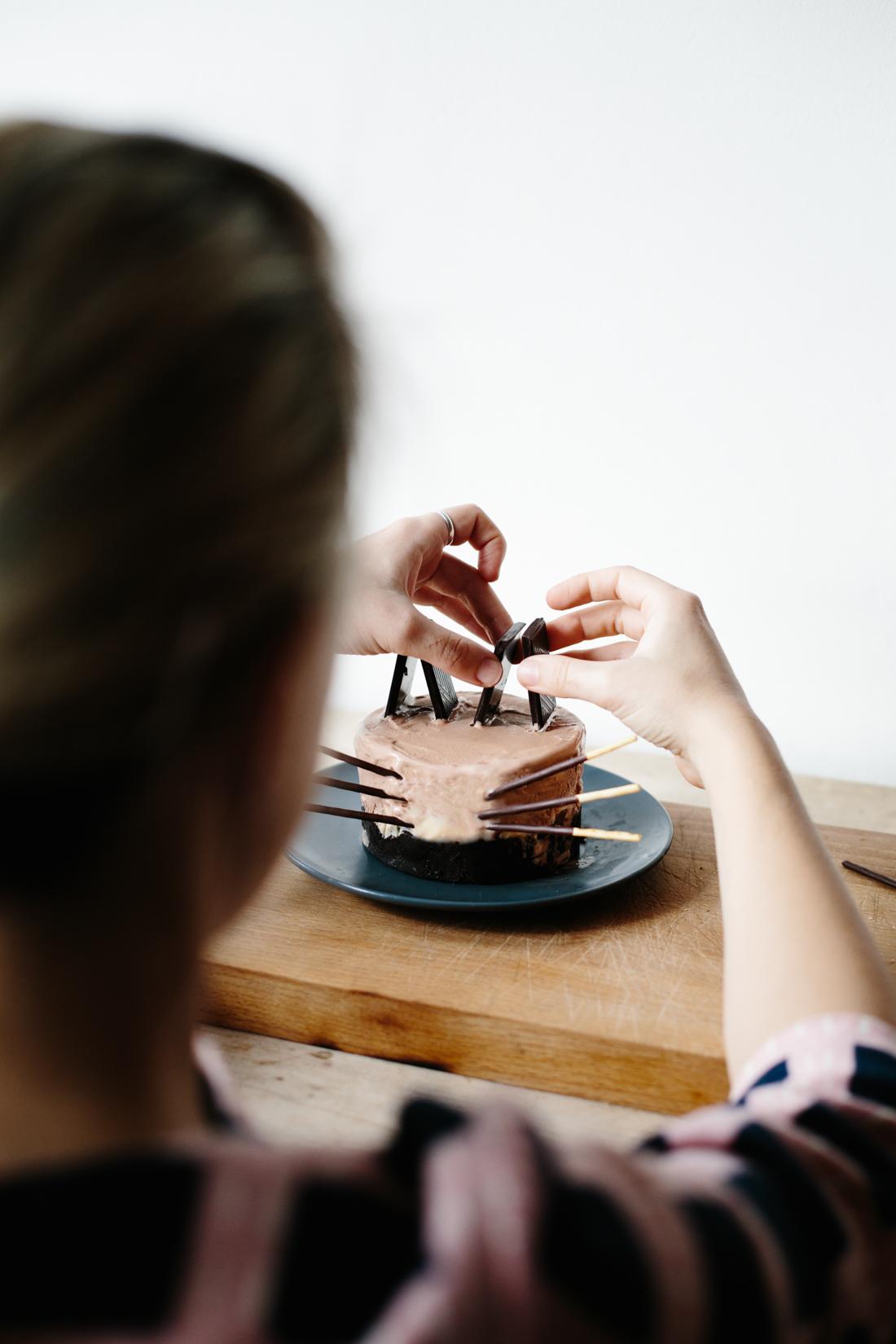 Brownie Ice Cream Cake / Meet Jack + Luna   Erika Rax