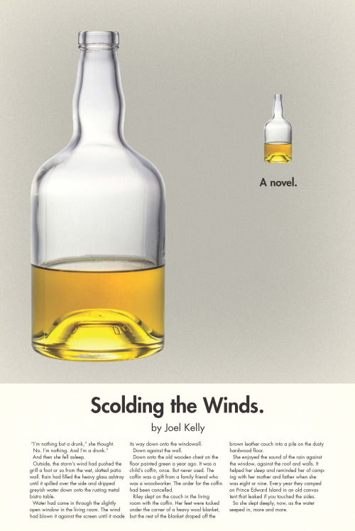 """The cover of """"Scolding the Winds"""""""