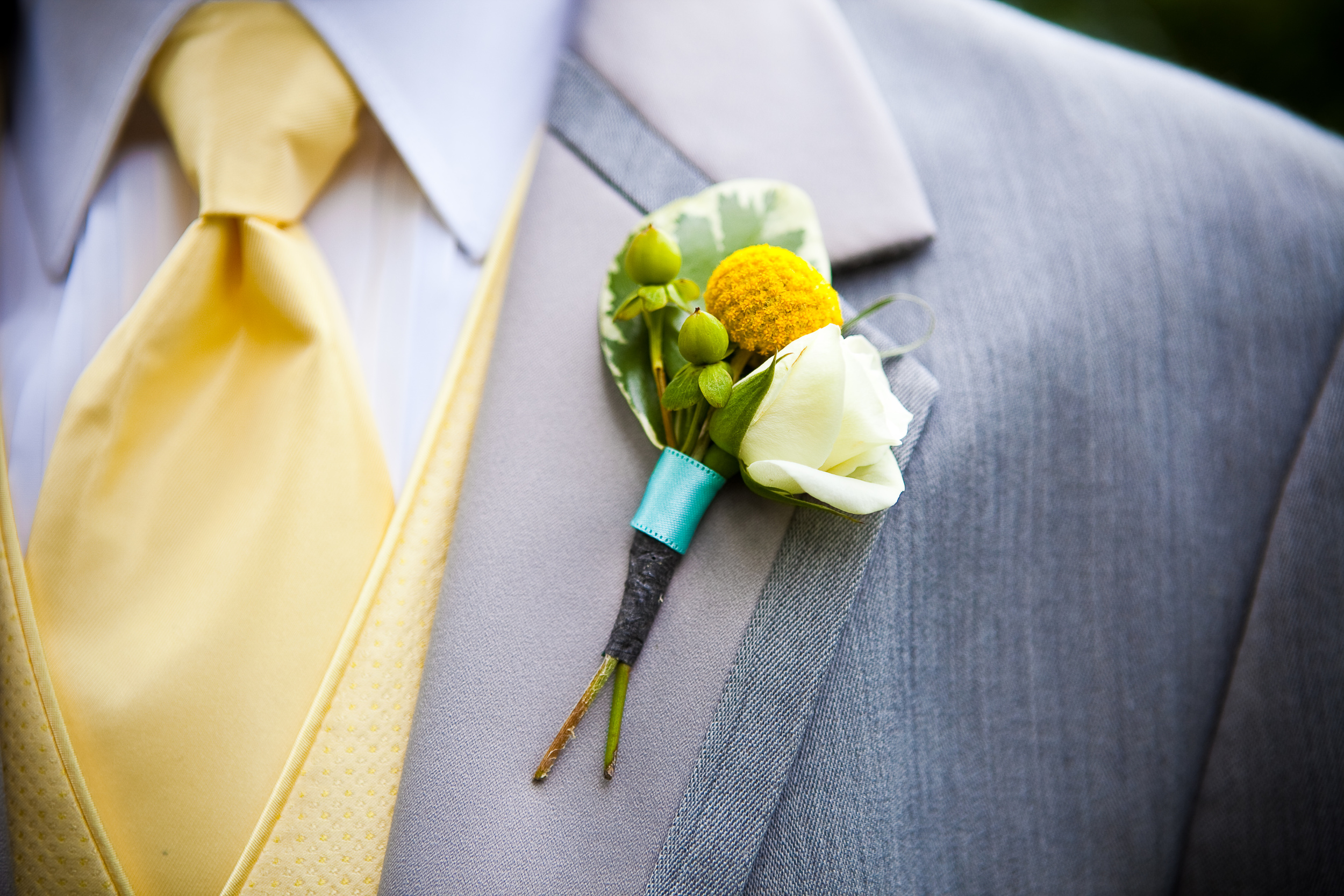 Boutonniere with Billy Ball