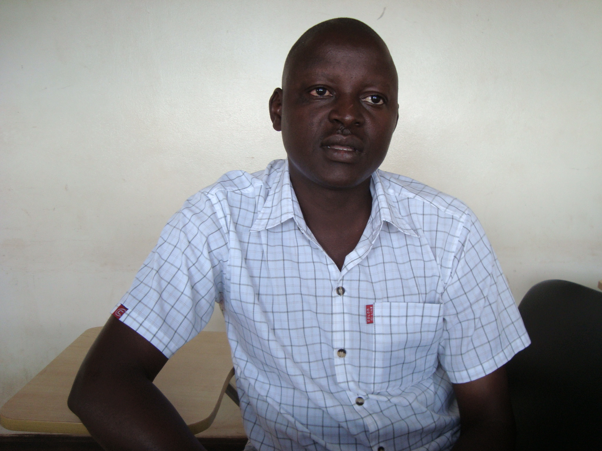 Mr. Stephen Otukor – the in-charge of Kasodo Health Centre III in Pallisa