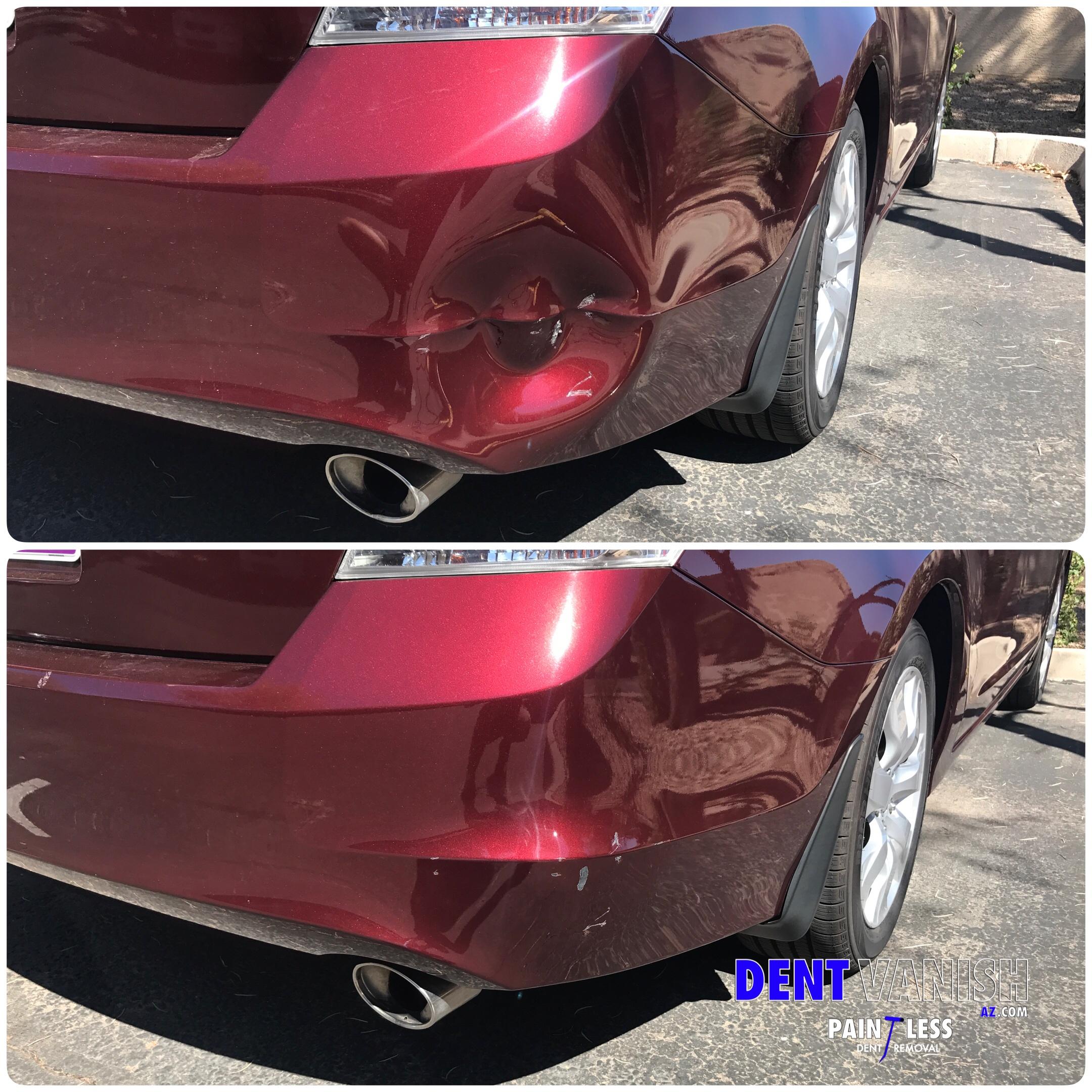 Rear Bumper Repair