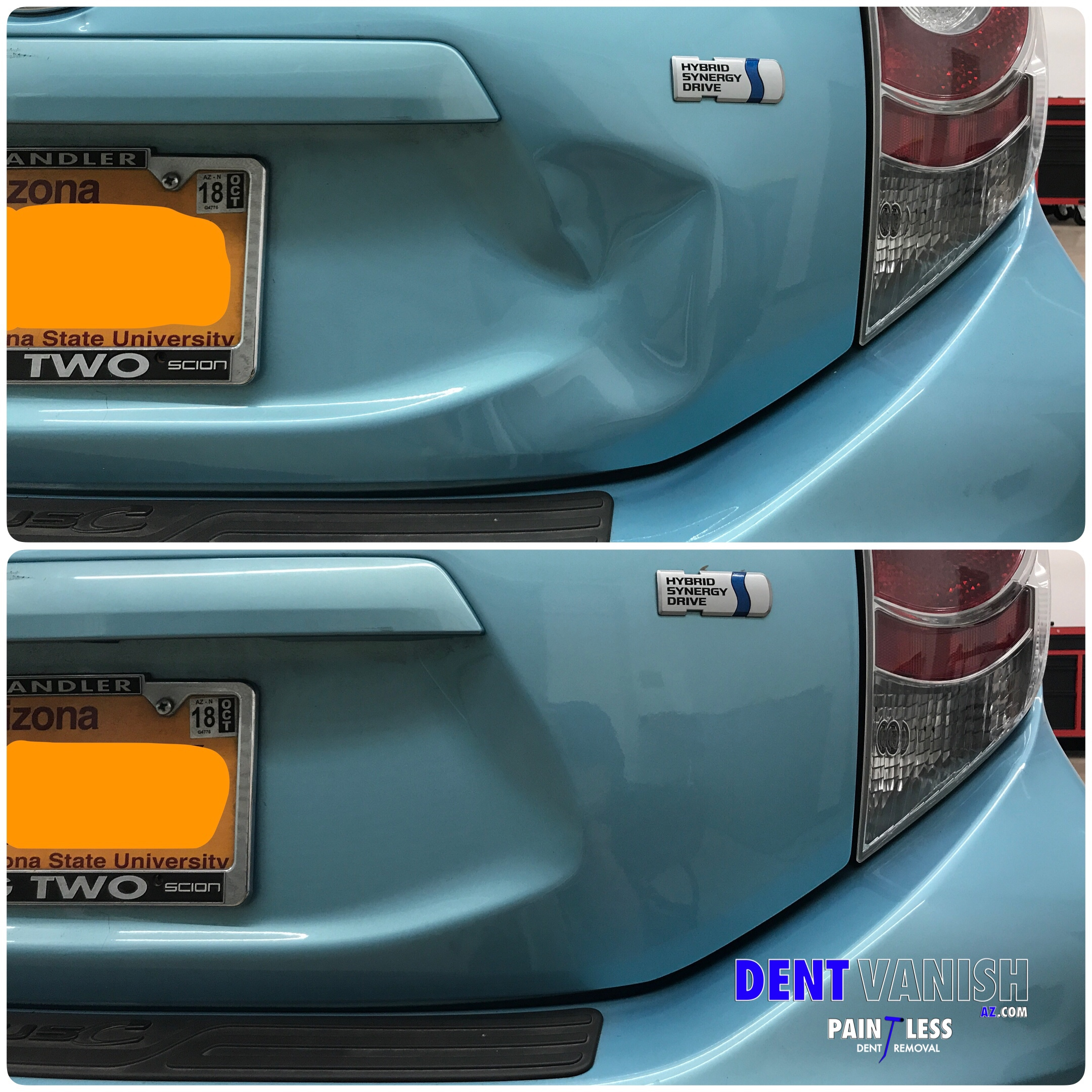 Dent Vanish AZ | Paintless Dent Repair | Mobile Service