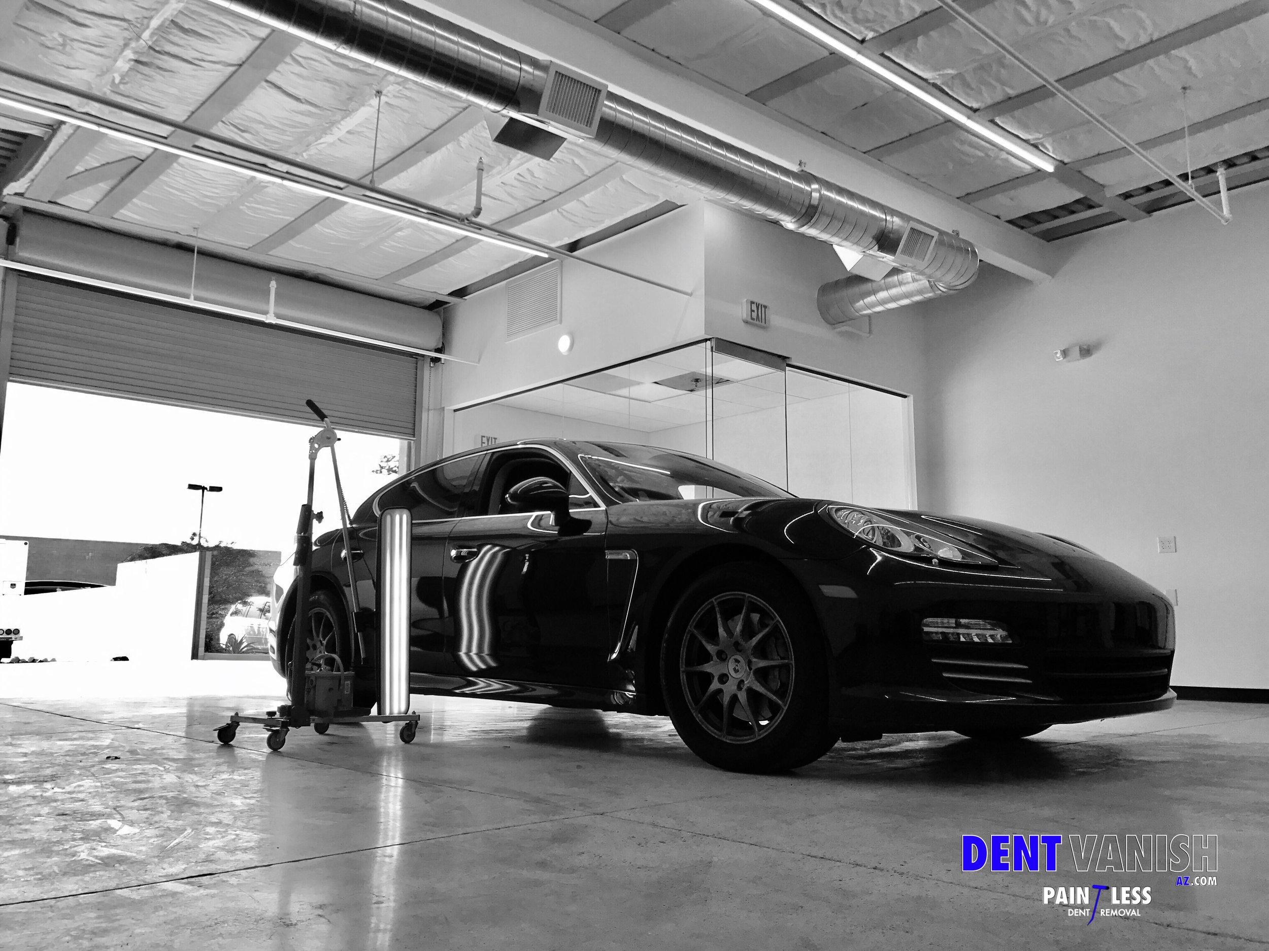 Porsche Panamera ding repair